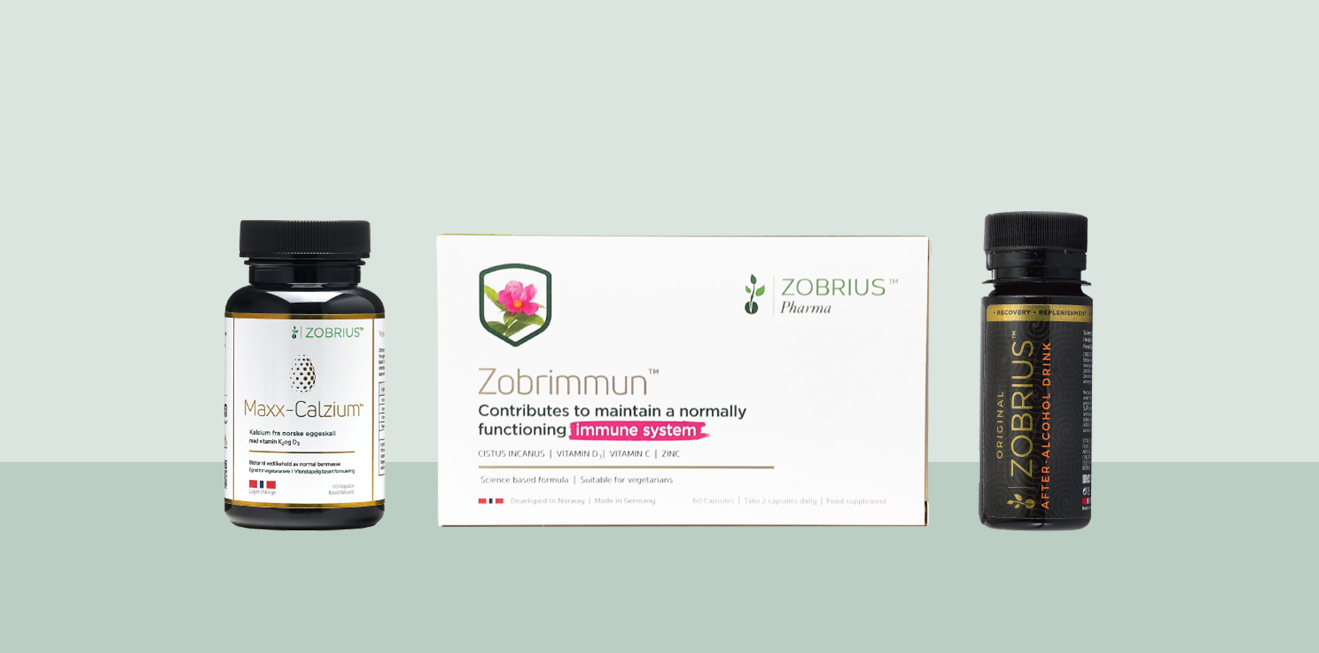 Zobrius Pharma products